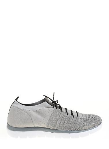D by Divarese Çorap Stili Spor Ayakkabı Gri